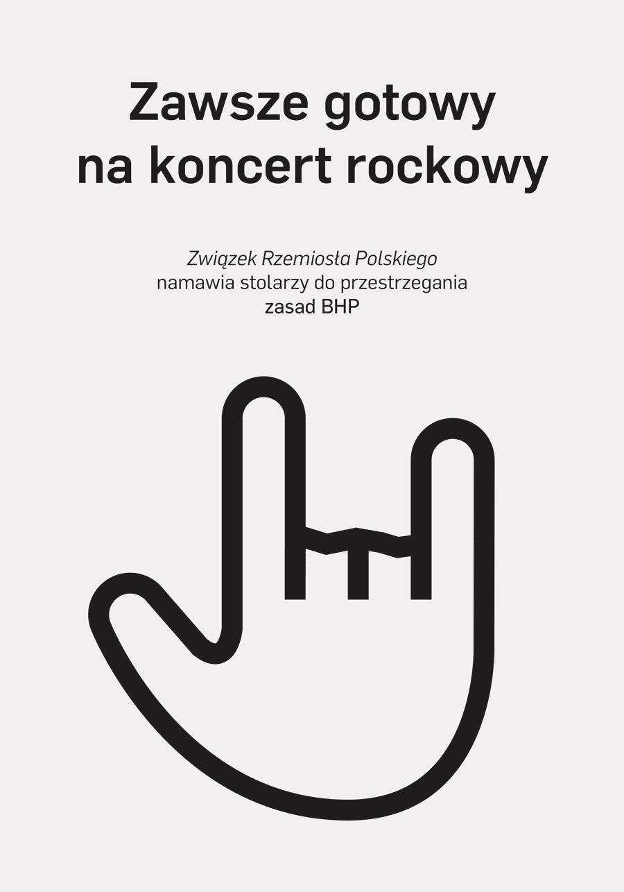 Zawsze gotowy na koncert rockowy
