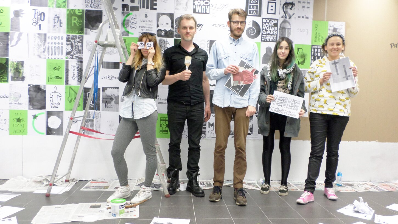 Authors: Karolina Zaborska, Mariusz Andryszczyk, me, Marta Olczak and Kaja Kaja