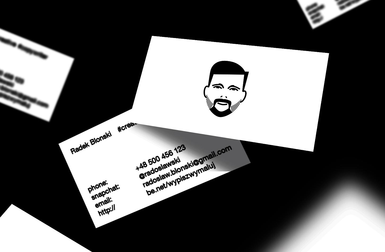 Radek Błoński - personal branding